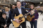 YOUNG MUSICIANS FROM ACROSS SCOTLAND GATHER IN GLASGOW FOR THE BIG CASHBACK BUSK