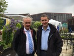 Caledonia Services annual T in the Garden event in Middlefoed with Cllr David Alexander