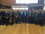 Visit by Denny High School to Scottish Parliament
