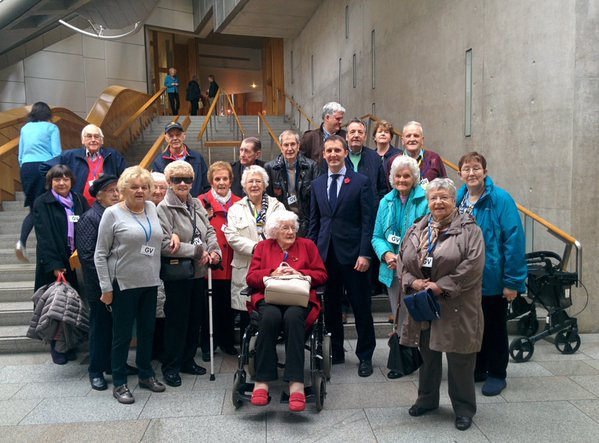 FALKIRK MD GROUP VISIT TO PARLIAMENT