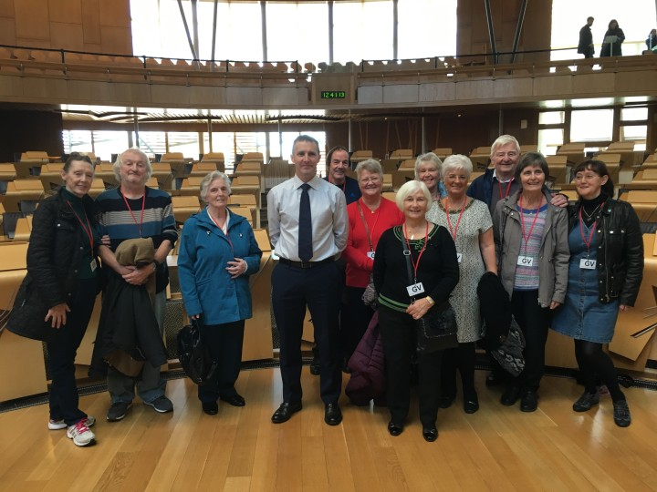 GREENHILL HISTORICAL SOCIETY VISIT TO PARLIAMENT