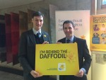 Supporting Marie Curie's campaign at the Scottish Parliament