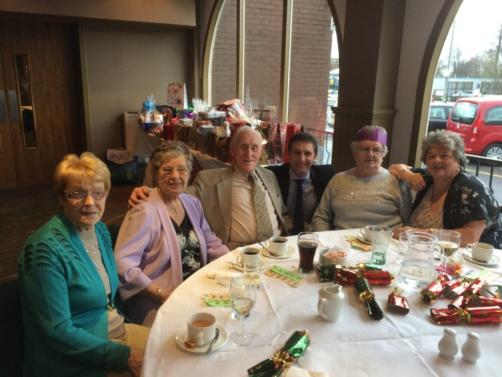 Attending the Parkfoot Court Christmas Lunch at the Cladhan Hotel, Falkirk