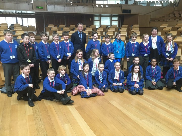 ST ANDREWS PRIMARY VISIT TO PARLIAMENT