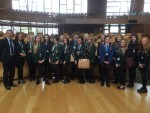 Visit by pupils of St Mungo's, Denny, Larbert and Braes High Schools to Parliament