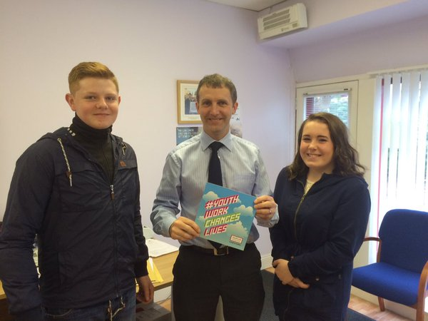 Great to be able to speak to Brad and Courtney of Youthlink Scotland
