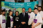 Hosting the Canal College event at Parliament