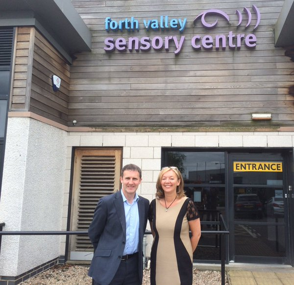 Visit to the Forth Valley Sensory Centre in Camelon