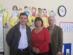 MICHAEL VISITS HOMESTART FALKIRK WEST AT THEIR CENTRE IN DENNY