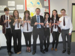 CELEBRATING FAIR TRADE AT FALKIRK HIGH