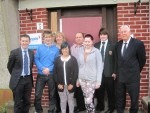 VISIT TO Y PEOPLE IN LANGLEES