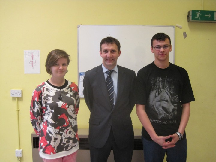 MEETING MEMBERS OF THE SCOTTISH YOUTH PARLIAMENT