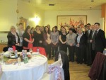 Michael hosts dinner for Homestart Falkirk West
