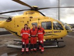 VISITING THE EMERGENCY MEDICAL RETRIEVAL SERVICE