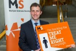 MICHAEL SUPPORTING THE MS SOCIETY TREAT ME RIGHT CAMPAIGN
