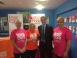 Breast Cancer Care Scotland launch at Forth Valley Royal Hospital