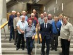 DENNY AND BONNYBRIDGE MENS SHED VISIT TO PARLIAMENT SEPT 2018