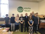 Visiting Go Youth Trust in Glebe St, Falkirk