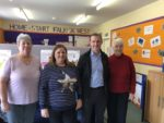 VISIT TO HOME START FALKIRK WEST IN DENNY