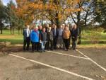 Attending a meeting of the Bonnybridge Railway Group