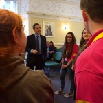 MEETING YOUTH ORGANISATIONS AT CARRONVALE HOUSE IN LARBERT