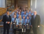 Falkirk Gaelic Choir visit to Parliament