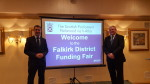 Opening Funders Fair with my colleague Angus MacDonald MSP