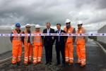 Opening the new Greenhill Railway Bridge