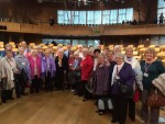 Meeting the Nifty Fifty Group from Banknock on a recent visit to Parliament