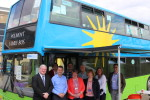 Visit to Polmont Family Bus with my colleague Angus MacDonald MSP