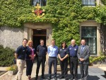 Visit to Boys Brigade HQ at Carronvale House, Larbert