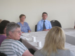 AS PART OF CARERS WEEK I ATTENDED A CARERS QUESTION TIME AT FALKIRK CARERS CENTRE