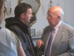 MICHAEL PAYS VISIT TO ABBEYFIELD HOME IN LADYSMILL, FALKIRK