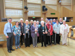 FALKIRK FIBROMYALGIA SUPPORT GROUP VISITS PARLIAMENT