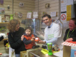 HELPING AT BARNARDO'S, FALKIRK ON MAKE A DIFFERENCE DAY 2012