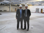 MEETING UP AT THE NEW MALCOM ALLAN SITE IN LARBERT PART FUNDED BY THE SCOTTISH GOVERNMENT