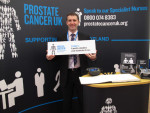 MICHAEL SHOWS SUPPORT FOR PROSTATE CANCER CAMPAIGN