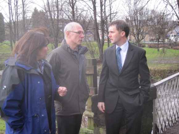 Meeting constituents in respect of my consultation on the Bonny Water