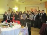Michael hosts dinner for Homestart Falkirk West