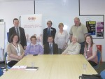 Meeting staff, volunteers and service users at WRVS in Falkirk