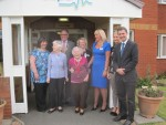 Michael visits the New Carron Care Home