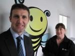 Meeting Elizabeth Carnahan, owner of local company Gracefruit, based in Longcroft