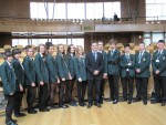 Visit to Parliament by pupils of St Mungo's High School, Falkirk