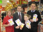 WINNER OF MY CHRISTMAS CARD COMPETITION,EVE BARRETT OF ST BERNADETTES PRIMARY, STENHOUSEMUIR