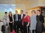 Hosting a dinner for the Falkirk Carers Centre