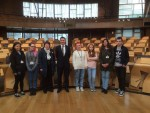 Cluaran project Parliament visit 2015