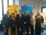 Visiting the Wider Access to School Project at Denny High School