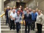 DENNY AND BONNYBRIDGE MENS SHED VISIT TO PARLIAMENT SEPT 2018