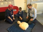 CPR TRAINING AT DENNY PRIMARY