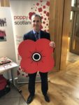 Supporting Poppy Scotland on this the 100th year since the end of the Great War